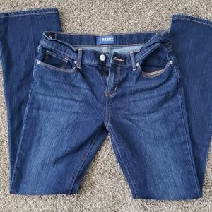 Girls size 16 boot cut old navy jeans